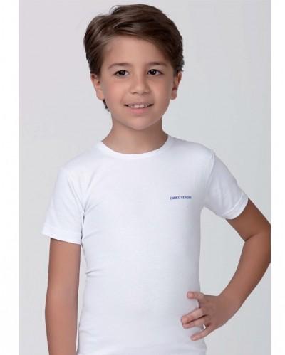 3 PACK T-shirt bimbo cotone elasticizzato Enrico Coveri girocollo.