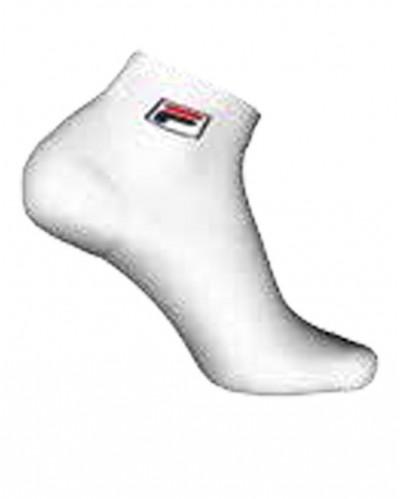 Calza quarter Sportiva FILA unisex in cotone rasato adatta sia per sport sia per tutti i giorni.